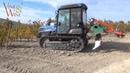 Глубокое рыхление почвы / Deep ploughing