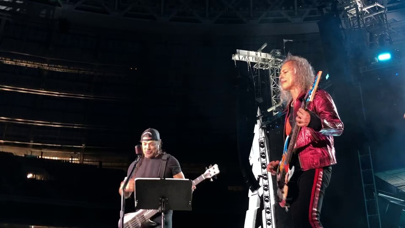 Metallica «Группа Крови» Металлика КИНО (Groupah krovee Viktor Tsoi) Moscow Luzhniki 21.07.2019