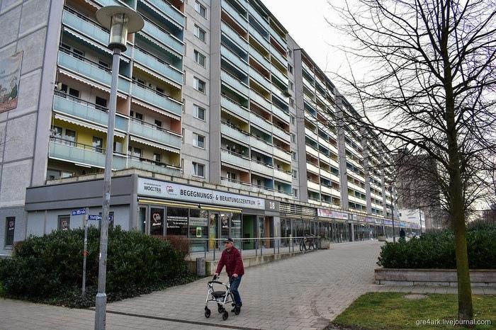 Панельное наследие ГДР.