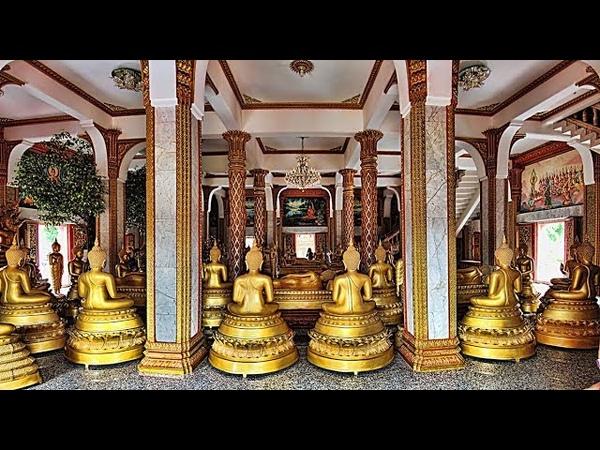 Храм Чалонг на Пхукете - кость Будды, петарды, крематорий и кладбище в стене