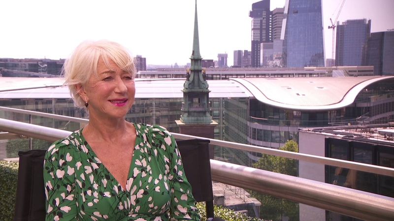 Fast Furious Presents Hobbs Shaw Helen Mirren Movie Interview