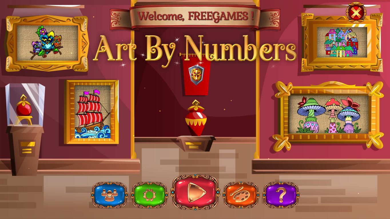 Искусство по номерам | Art By Numbers (En) все части