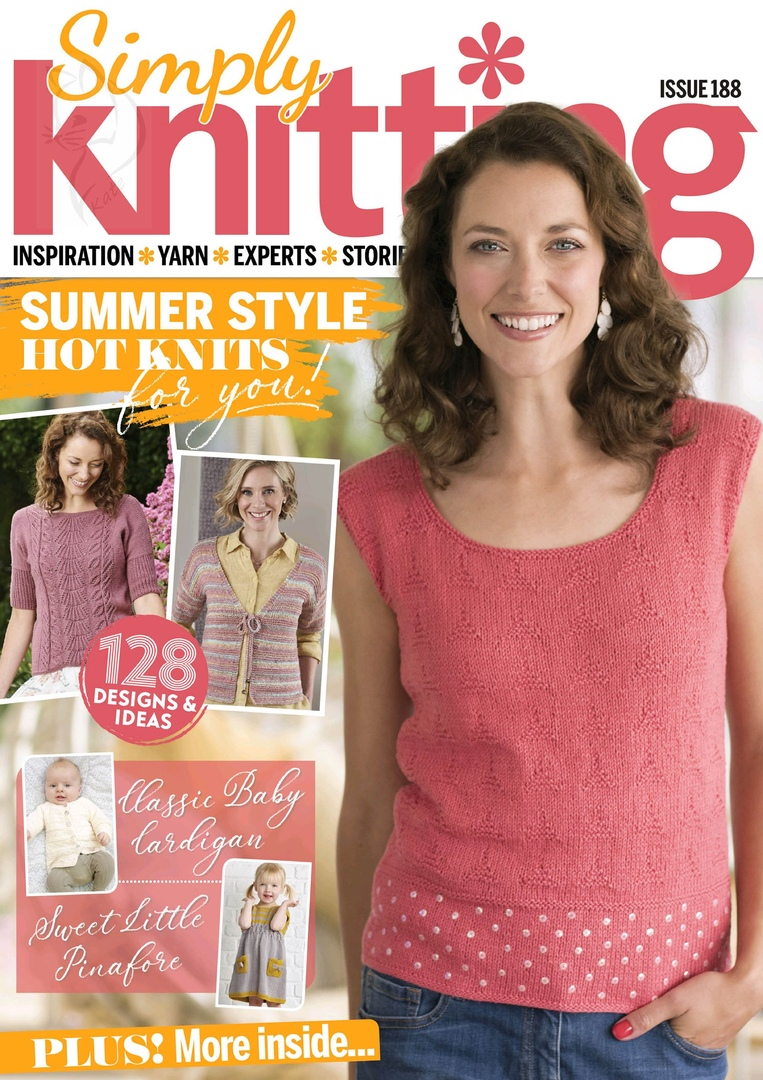 Simply Knitting Issue 188 - 2019
