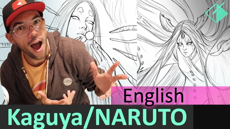 How to draw Kaguya from Naruto _ Jesus Conde , what should i draw 4