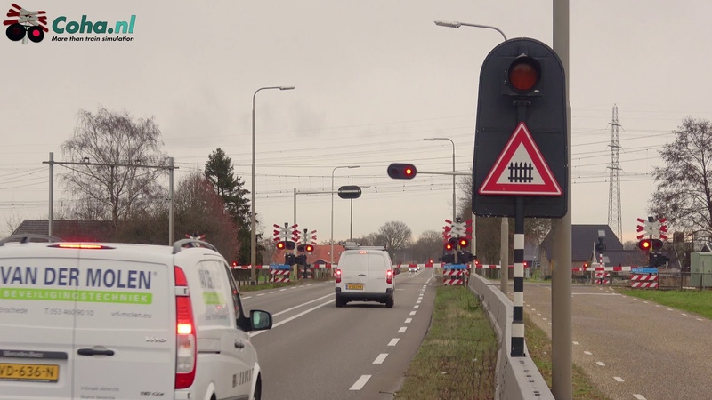 Spoorwegovergang Zwolle 😍4K😍 Dutch railroad crossing