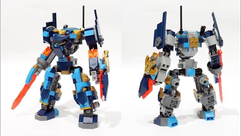 Lego Nexo Knight 72004 Альтернативная сборка