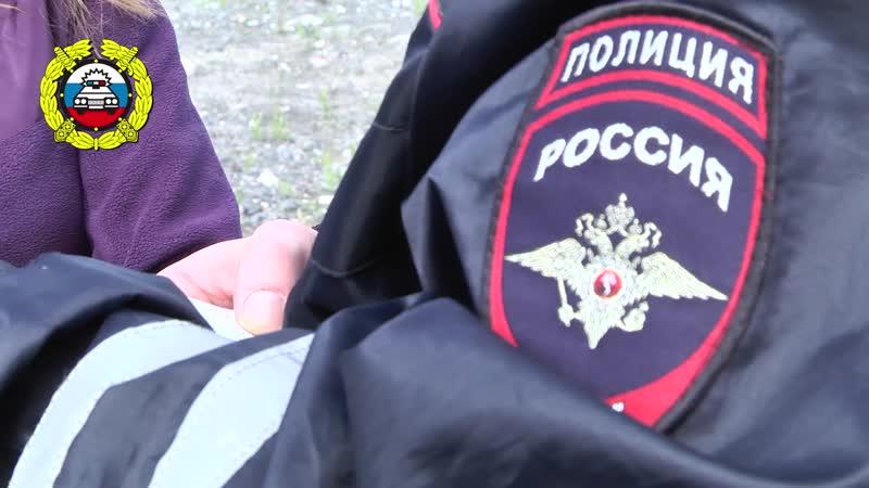 ОГИБДД МО МВД России Оленегорский- автобусы июль