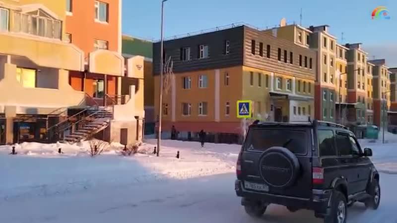 Прогулка по Анадырю, 24.12.2017, 13-00