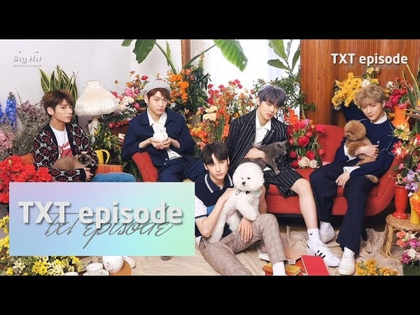 [EPISODE] TXT (투모로우바이투게더) 'Cat Dog' Jacket shooting sketch