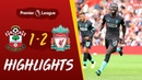 Southampton vs Liverpool Mane and Firmino clinch win for Reds