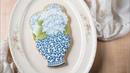Hand-painted Hydrangea Cookie Tutorial