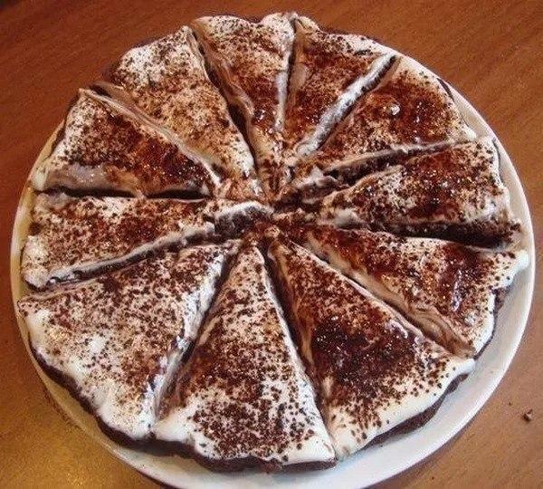 Вкуснейший лёгкий тортик!