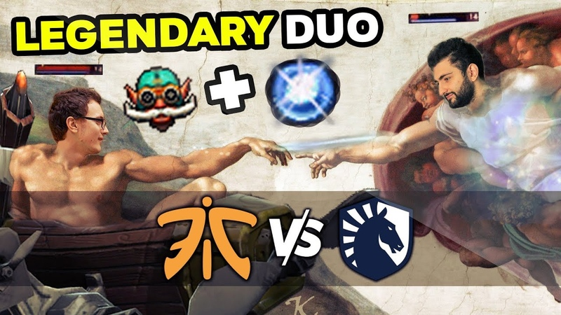 LIQUID vs FNATIC Miracle GH with Gyro Wisp IO BEST Combo In Dota 2 TI9 Elimination Match