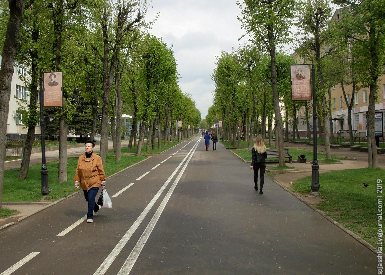 02. Пешеходная улица в центре Смоленска