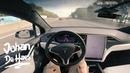 2018 Tesla Model X P100D POV test drive (0-100 km/h in 3,1 sec)