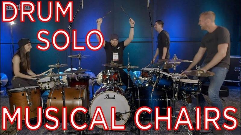DRUM SOLO MUSICAL CHAIRS? Ft. Rob Scallon, Kristina Schiano Jared Falk