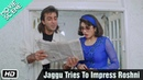 Jaggu Tries To Impress Roshni - Movie Scene - Gumrah - Sanjay Dutt, Sridevi