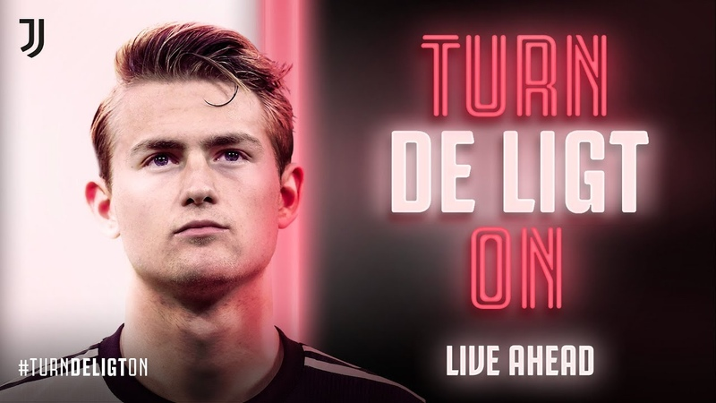 TURN DE LIGT ON | Matthijs de Ligt joins Juventus!