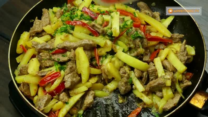 Если в доме есть мужчина Соте с мясом и овощами спасет в любой ситуации