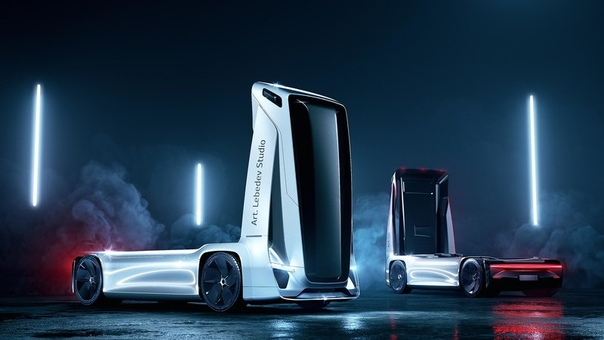 Российские дизайнеры представили свой ответ на грузовик Tesla