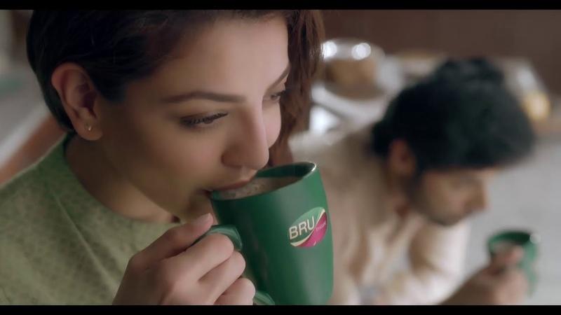 Kajal Aggarwals Bru Tvc Ad 2019 | Tamil |