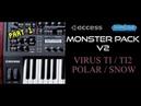 Monster Pack V.2 Sound Bank - Access Virus TI / TI2 / Polar / Snow ( Synthcloud Libraries ) Pt. 1