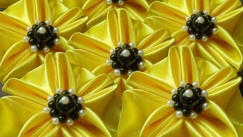 Bead core for ribbon flower🌹серединка для цветка канзаши🌹Núcleo de la flor🌹Núcleo flor 252