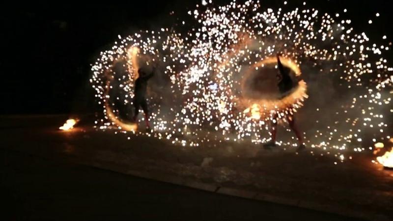 Огненное шоу/ Fire Flower/ Риа