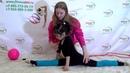 Урок №19 Прыжок в шпагат . Художественная гимнастика.