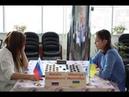 Natalia Shestakova RUS Viktoriya Motrichko UKR Women's World Draughts Championship 2019