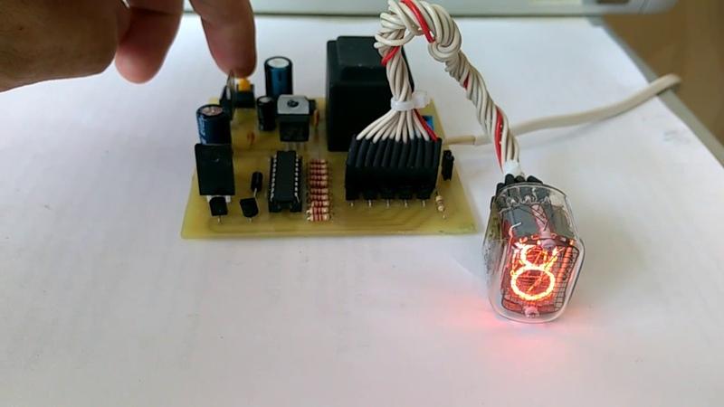 Тестер-активатор газоразрядных индикаторных ламп