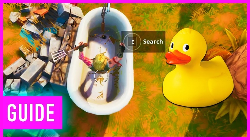 Fortnite: Search The Tiny Rubber Ducky In Loading Screen | 14 Days Of Summer Challenges