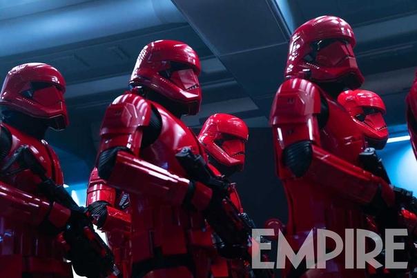 Солдаты Первого Ордена на новом кадре девятого эпизода «Звездных войн»