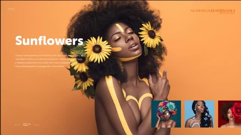 Concept with photos from the designer mariya_evseenko