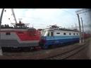 Павелецкий вокзал - Чертаново (из окна электропоезда)