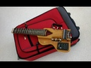 1st attempt to make a travel guitar with Fishman Pickup from Ebay