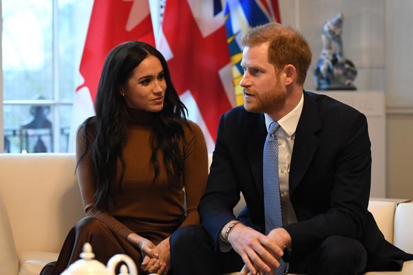 Принц Гарри и Меган Маркл посетили Дом Канады в Лондоне