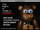 Five Night's at Freddy's Plushies 2 (1 Night)