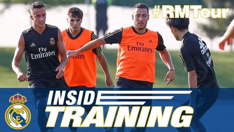 Real Madrid third pre-season training Montreal!