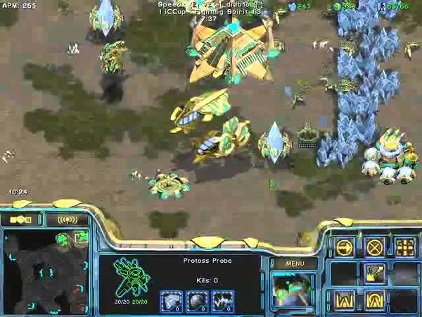 FPVOD REPS Tama vs Speedx PvZ Game 4 Starcraft Brood War 2015