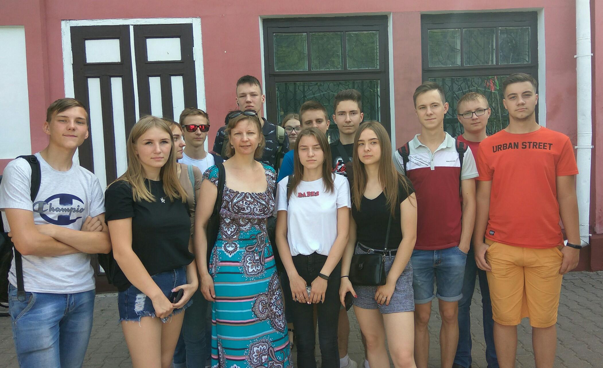 Встреча участников автопробега ДОСААФ Республики Беларусь и ДОСААф России