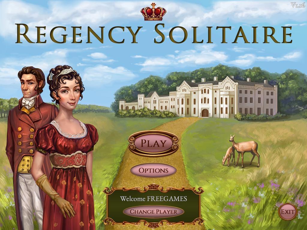 Пасьянс Регентство | Regency Solitaire (En)