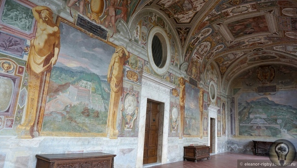 Возвращение в Тоскану. По дороге в Тоскану через Лацио. Вилла Ланте Начав фонтанную тему в старинном городе Витербо, мы продолжили знакомство с водно-инженерным искусством этих мест в шести