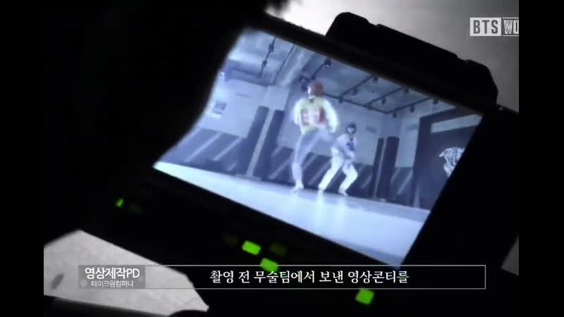 Video production PD In case of Jungkook, he came prepared from studying the video script that the action team sent before shooti