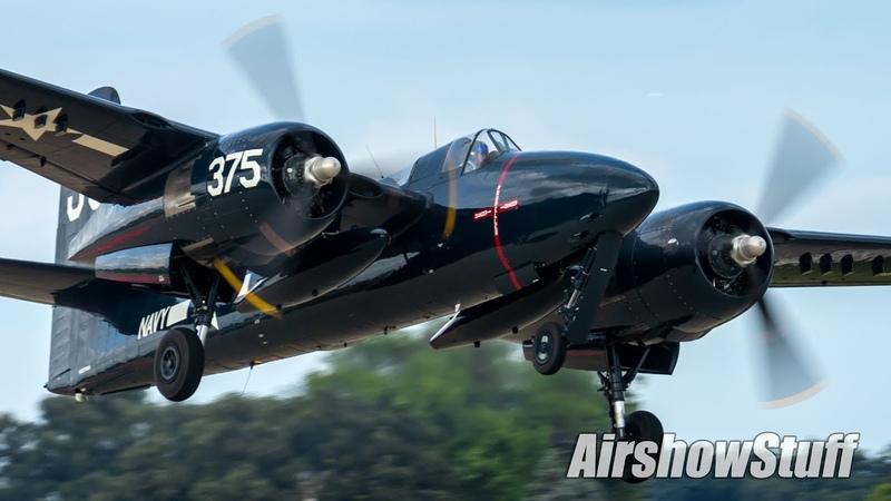 Warbird Chaos in Oshkosh Saturday EAA AirVenture Oshkosh 2018