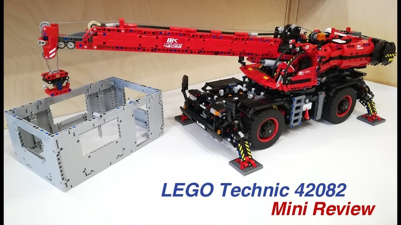 LEGO Technic 42082 Mini Review