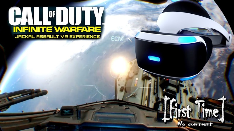 Ps4 VR | Call Of Duty: Infinite Warfare (Jackal Assault VR Experience), [First Time]
