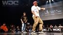 RUSH BALL vs Twiggz Fam BEST4 HIPHOP WDC 2019 World Dance Colloceum WDC