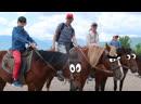 Катаемся на лошадках, стреляем из лука в горах В КРЫМ ИЗ МОСКВЫ НА МАШИНЕ С ДЕТЬМИ