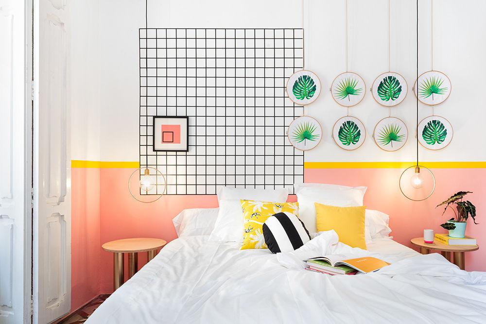 Valencia Lounge Hostel by Masquespacio Design